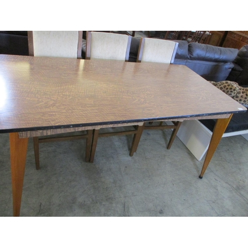 24 - Old fashion kitchen table...