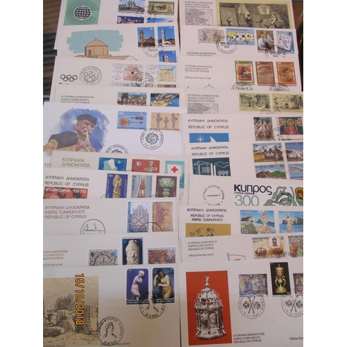 33 - Collection of Approx. 20 x Cypriot First Day Covers...