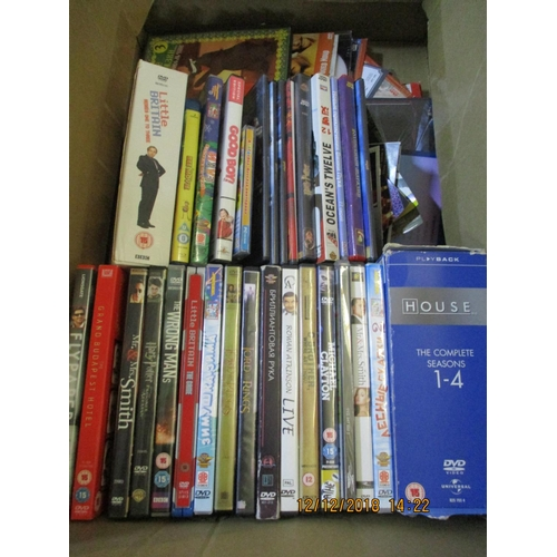 22 - Box of DVDs ** CHARITY AUCTION - NO COMMISSION **...