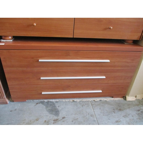 13 - Modern 3 - Drawer Chest of Drawers with Metal Handles ***NO RESERVE***...