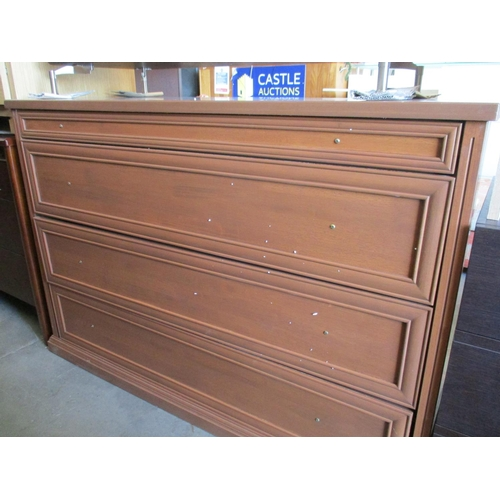 26 - Wooden Classical Chest of Drawers with 4 - Drawers ***NO RESERVE***...