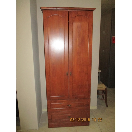 28b - 2 - Door Wardrobe over 2-Drawers [C] (Boxed and Requiring Assembly) ***NO RESERVE***...