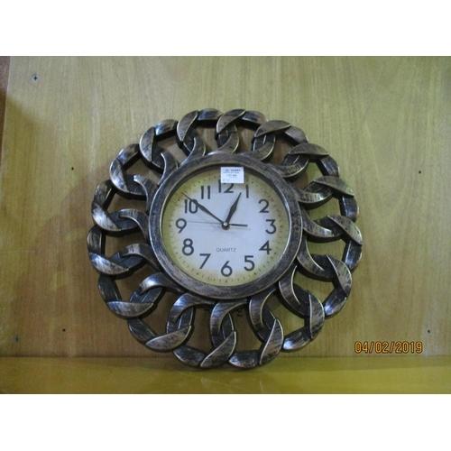 58 - Quartz Wall Clock...