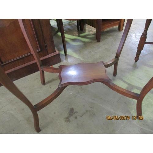 39 - Vintage Hall Table Wooden Carved, Rectangular...