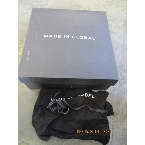 57 - Black Unisex Backpack Made in Global in Original Box (New)...