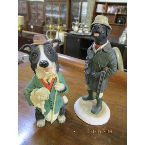 30 - Shepherd & Hunter Figurines...