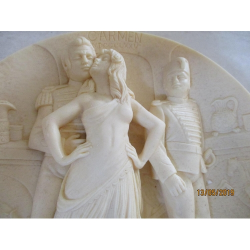 8 - 'Carmen' A First Edition in Ivory Alabaster Carved 1978 Issue in La Scala Grand Opera Collection...