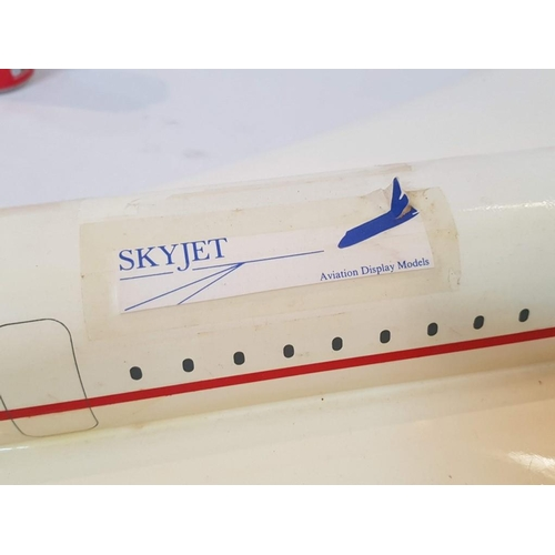 20 - 1.7m BA Concorde Model by 'Space Models', Fibreglass Airplane Trade Display Model of the Aérospatial...