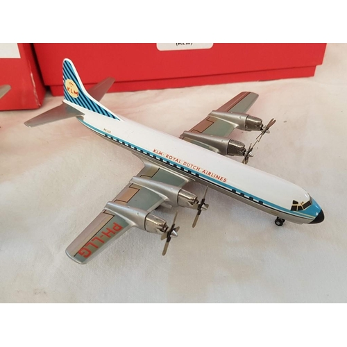 52 - Series of WM Classic Airlines (Made in England) inc CA 2G Douglas DC-7c (Japan Airlines), CA 10c Dou...