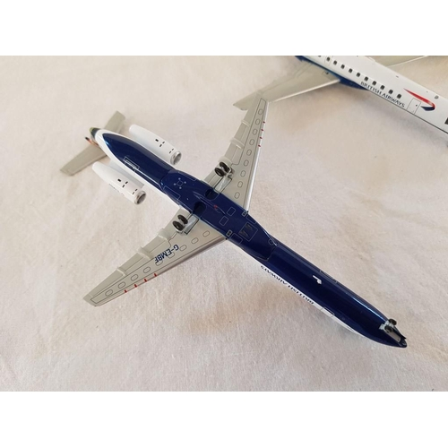 60 - Series of British Airways Die Cast 1:200 Model Airplanes with Different Liveries (x9)...