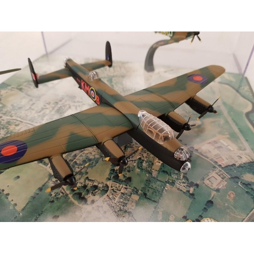 7 - 3 x Memorial Flight Royal Air Force ''Lest We Forget'' inc: PA 474 (over all Length 15cm) LF 363 (Ov...
