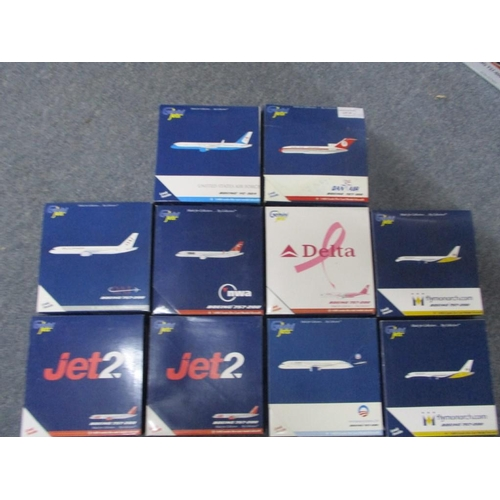 41 - Series of Gemini Jets Die Cast 1:400 Model Scale inc Boeing 727-100, Boeing VC-32A, Boeing 757-200 i...