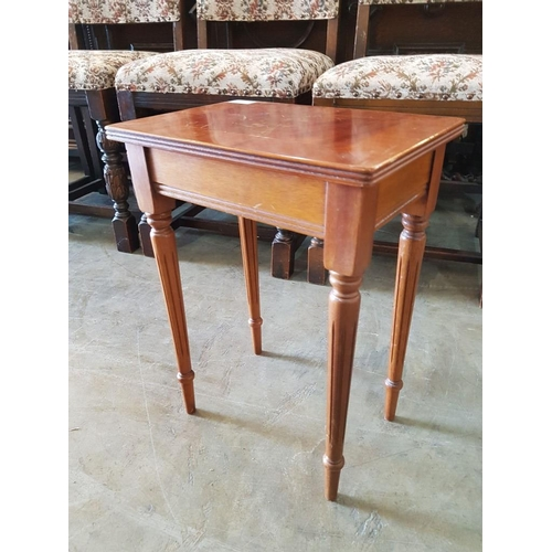 26 - Wooden Side Table...
