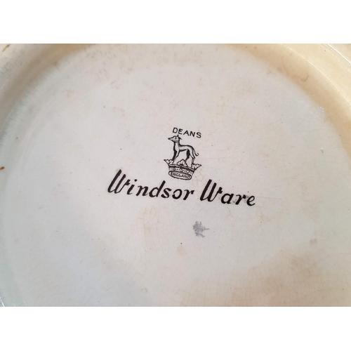 6 - Large Vintage 'Deans, Windsor Ware' English Jug and Wash Bowl (2)...