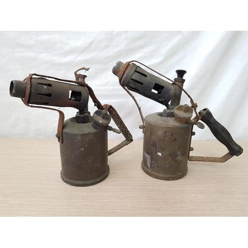 44 - 2 x Vintage Blowtorches (2)...