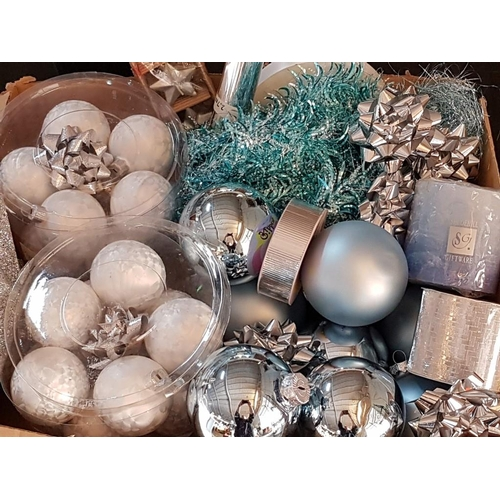 43 - Large Collection of Christmas Ornaments