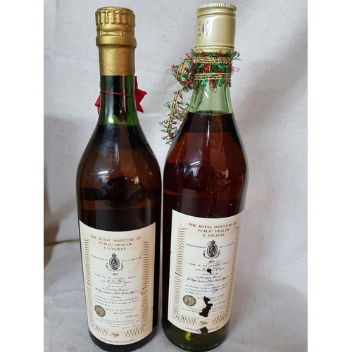 3 - Christmas Gift For Collectors - Keo Brandy Extra 1972 (8 Years Old) and Keo Brandy V.S.O.P (12 Year ...