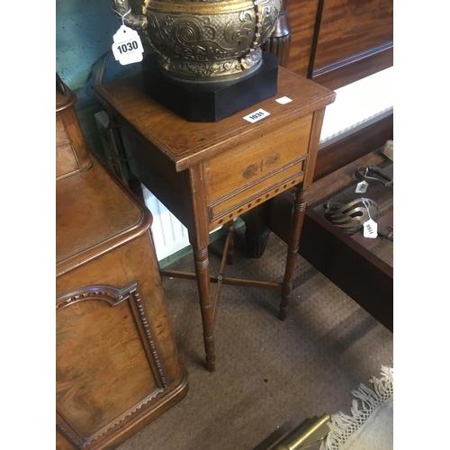 1031 - Edwardian bedside cabinet....