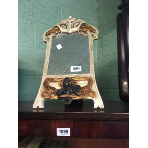 1064 - Decorative picture frame in the Art Nouveau style....