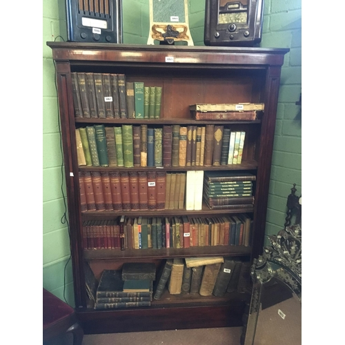 1065 - Tall Regency bookcase....