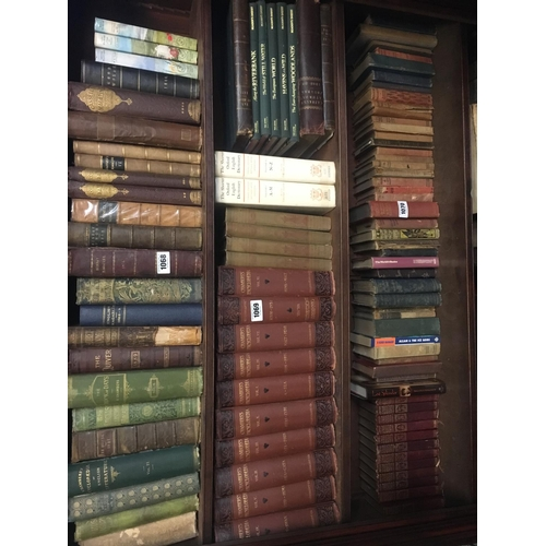 1069 - SHELF of Chamber's Encyclopaedia and Reader's Digest....