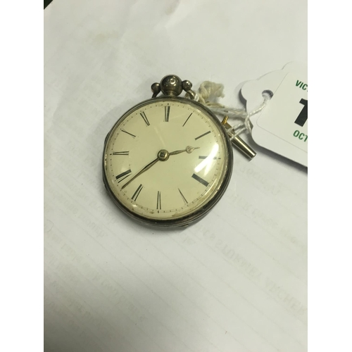 1139 - Verge pocket watch. Allen Colyer Dover 1820....