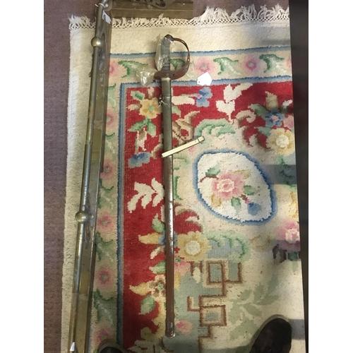 1168 - 4th Royal Irish Dragoon Guards Officer's sword belonging to Sub Lieut Robert John Abdy....
