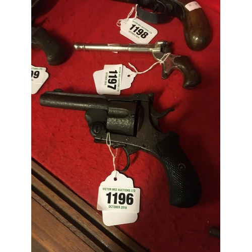 1196 - Late C19th. Revolver....