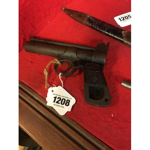 1208 - Webley Air Pistol....