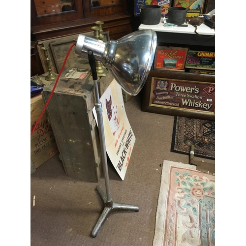 1288 - Chrome spotlight on stand....