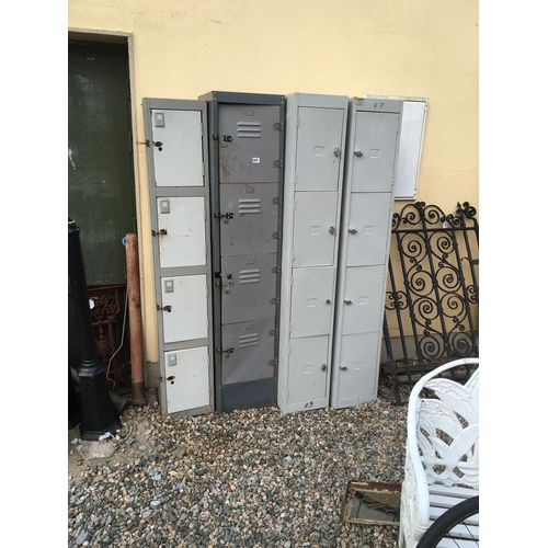 1331 - Four metal filing cabinets....