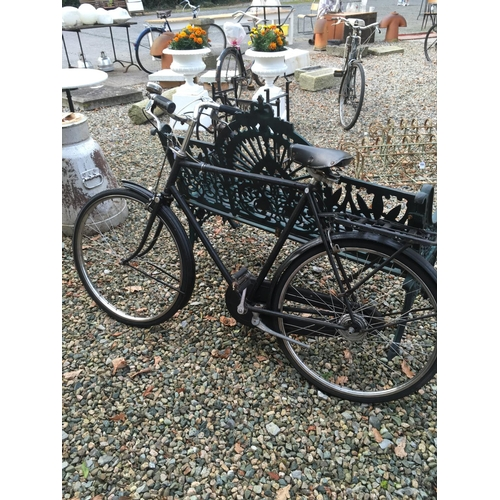 1370 - Rare 1958 RALEIGH four speed bicycle....