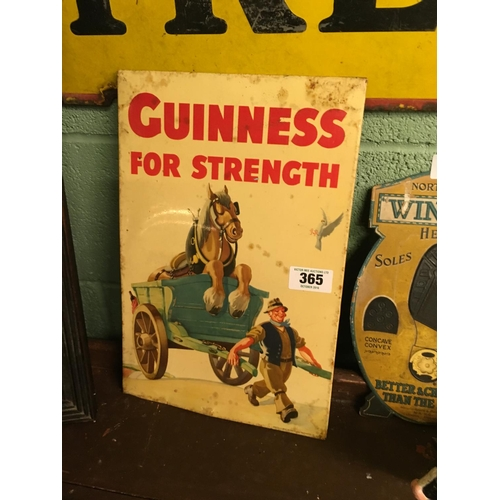 365 - 1950's GUINNESS FOR STRENGTH advert....