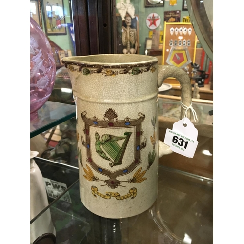 631 - Original ERIN GO BRAGH commemorative jug....