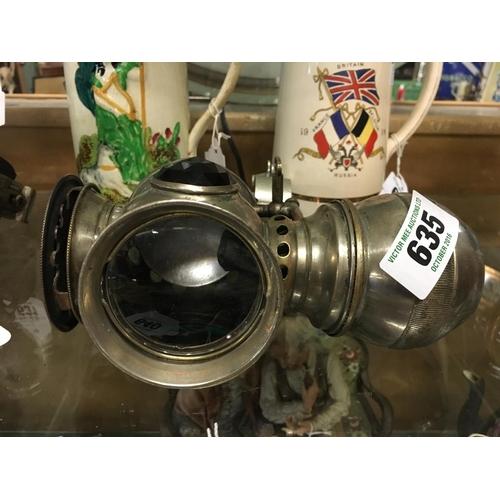 635 - Rare 1897 bike lamp....