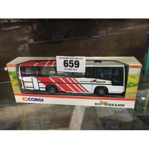 659 - CORGI Bus Eireann coach in original box....