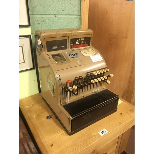 894 - 1950's NATIONAL cash register till....