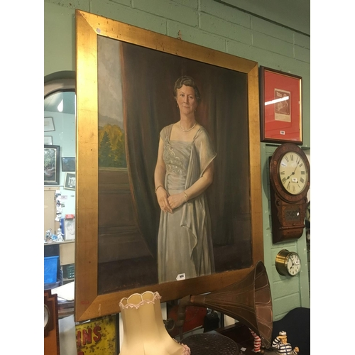 904 - Large portrait of a Lady signed John Archibald Alexander Berrie....