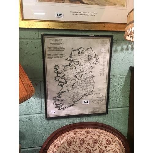 943 - Quakers 1795 Ireland map....