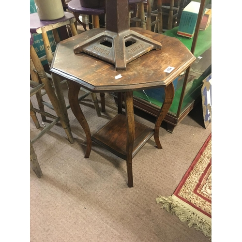 132 - Edwardian octagonal centre table....
