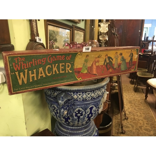 148 - 1930's THE WHIRLING GAME OF WHACKER....