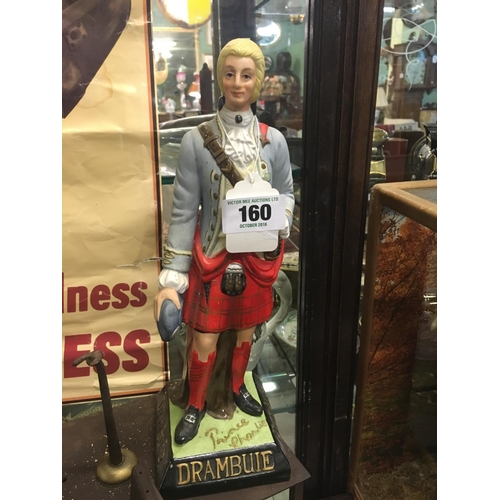 160 - Bonnie Prince Charlie DRAMBUIE whiskey advertisment figure....