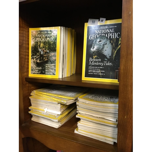 18 - Collection of National Geographic magazines....