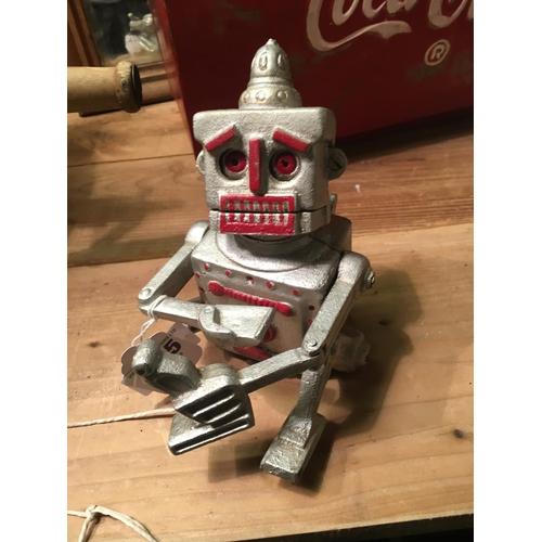 245 - 1950's ROBERT THE ROBOT money box....