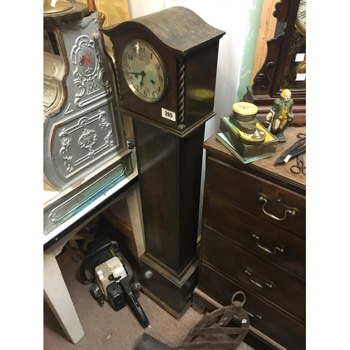 265 - 1930's Art Deco grandmother clock....