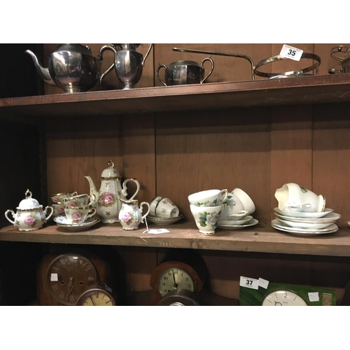 36 - Part tea set and coffee set....