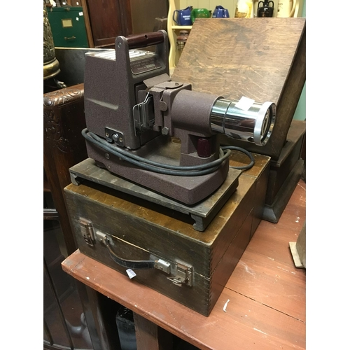 70 - KERSHAW strip projector with original box....