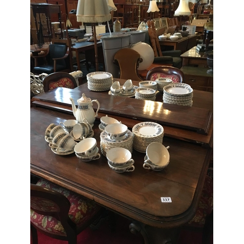 116 - Myott Meakin dinner and tea service....