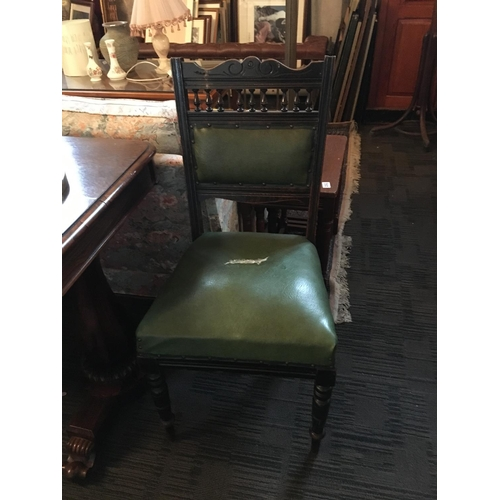 130 - Pair of Edwardian side chairs....