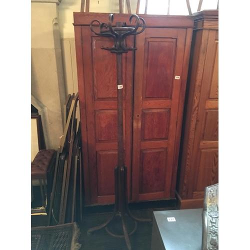 155 - Bentwood coat stand....